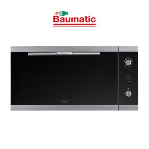 Baumatic BSO99-ANZ - Studio Solari 90cm Black Glass Oven