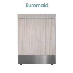 Euromaid FI14BM 60cm Fully Integrated Dishwasher-web ready