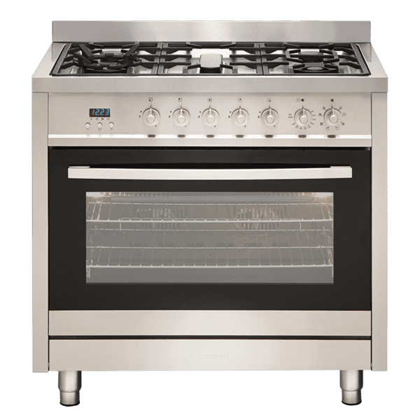 Euromaid GE9SS 90cm StoveCooker – Electric Oven & Gas Cooktop