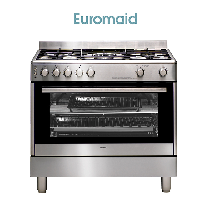 Euromaid GG90S 90cm Gas Upright, Made in Europe