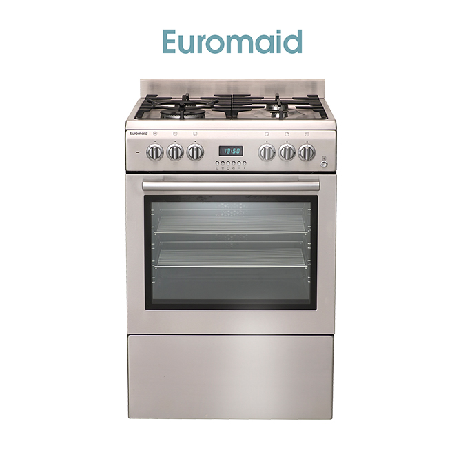 60cm Electric Oven & Gas Cooktop