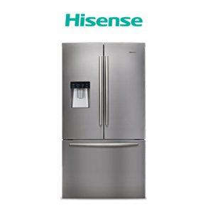 Hisense Hr6cdff695gb 695l Black Glass French Door