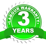 3 year labour warranty