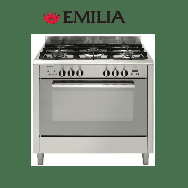 Emilia DI965MVI4 90cm Romagna Series 4 Upright Gas Cooker & Stove