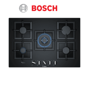Bosch PPQ7A6B20A 75cm Serie Black Glass Gas Cooktop-web ready