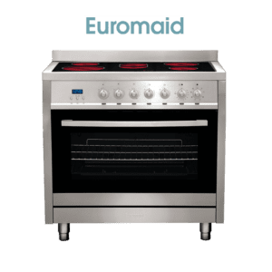 Euromaid CS9TS Electric Oven & Ceramic Cooktop