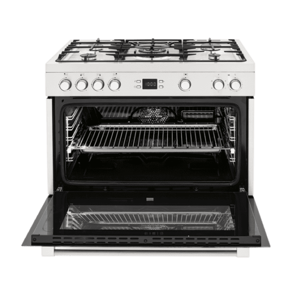 Baumatic RP90S 90cm Dual Fuel Cooker-Stove-full view