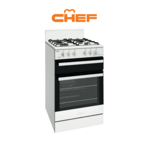 Chef CFG503WBLP 54cm LPG Gas Upright Cooker-web ready