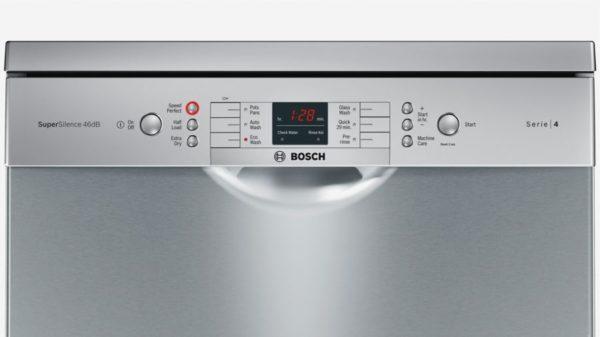 Bosch SMS46GI02A Serie 4 Freestanding 60cm Dishwasher-control