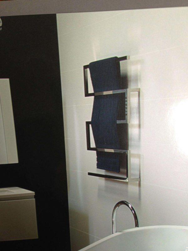 CBFTL10060Z Snake Z Style 5 Rung Towel Ladder 1000mm x 600mm