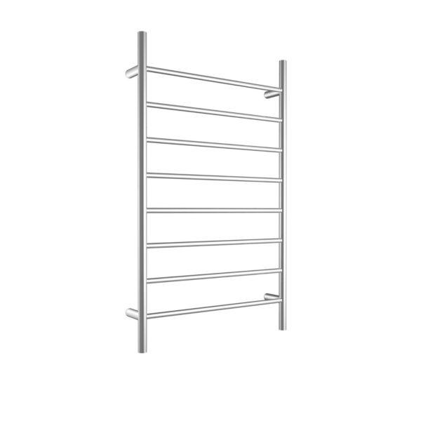 CBFTL1174R Round 8 Rung Bathroom Non Heated Towel Ladder 1150mm x 700mm-high