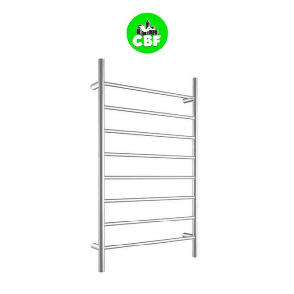 CBFTL1174R Round 8 Rung Bathroom Non Heated Towel Ladder 1150mm x 700mm-store