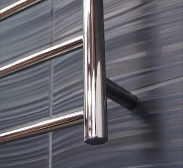 CBFTL75R Round 4 Rung Bathroom Non Heated Towel Ladder 500mm x 700mm