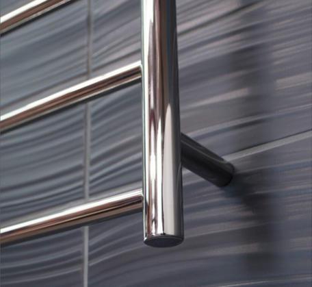 CBFTL94R Round 6 Rung Bathroom Non Heated Towel Ladder 920mm x 460mm