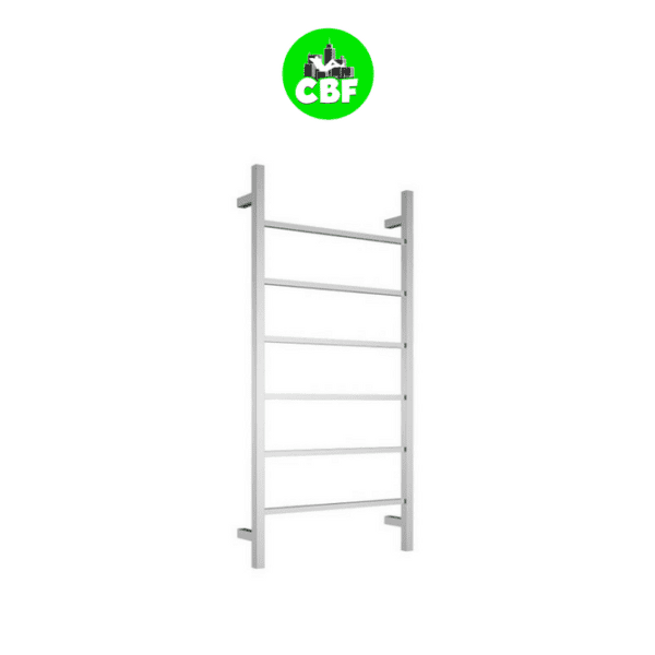 CBFTL94S Square 6 Rung Bathroom Non Heated Towel Ladder 920mm x 460mm-store