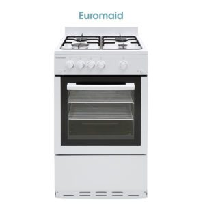 Euromaid GGFW50 50cm Freestanding CookerStove - LPG Oven, Grill & Cooktop-store