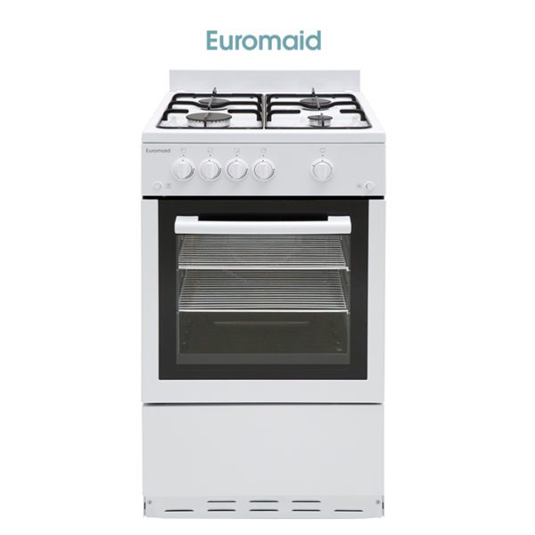 Euromaid GGFW50 50cm Freestanding CookerStove – LPG Oven, Grill & Cooktop-store