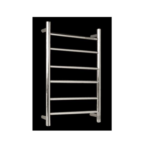 HTR-R4 Heated Round 6 Rung Bathroom Towel Ladder 700mm x 400mm-2