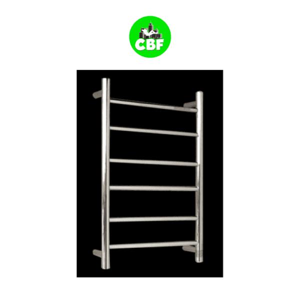 HTR-R4 Heated Round 6 Rung Bathroom Towel Ladder 700mm x 400mm-store