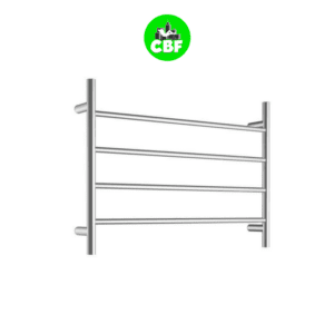 CBFTL75R - Round 4 Rung Bathroom Non Heated Towel Ladder