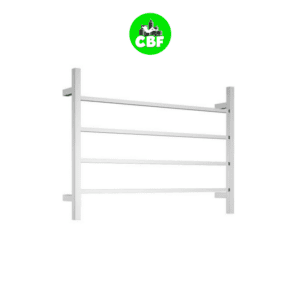 CBFTL75S Square 4 Rung Bathroom Non Heated Towel Ladder 500mm x 700mm