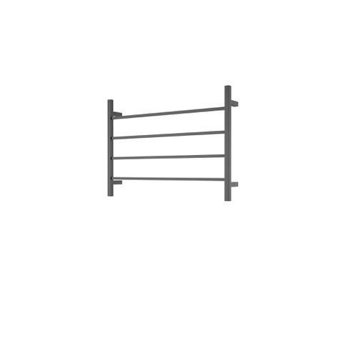 CBFTL75SBLK Square 4 Rung Bathroom Non Heated Towel Ladder 500mm x 700mm Matte Black