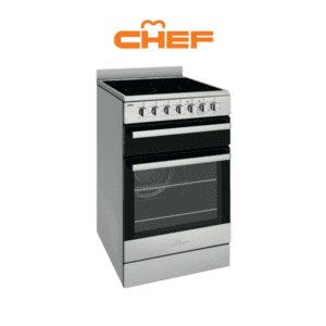 Chef CFE547SB - 54cm Electric Upright Cooker
