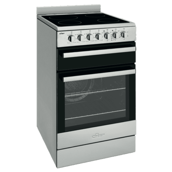 Chef CFE547SB 54cm Electric Upright Cooker