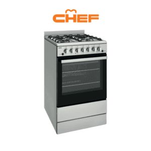 Chef CFG504SBLP 54cm LPG Gas Upright Cooker-web ready