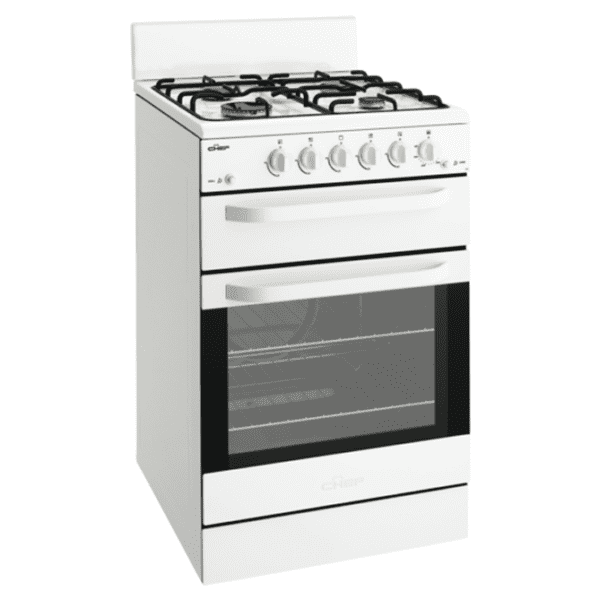 Chef CFG515WALP 54cm LPG Gas Upright Cooker