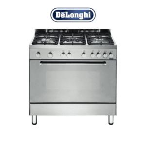 Delonghi DEF905GEG 90cm Freestanding Gas Cooker-Electric Grill-web ready