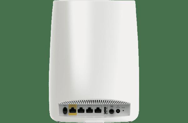 Netgear RBK50-100AUS Orbi High-Performance AC3000 Tri-Band WiFi System-back view