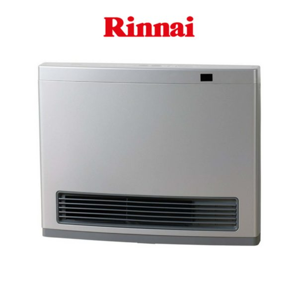 Rinnai AV25SL3 Rinnai Avenger 25 Convector LPG Heater Platinum Silver Unflued-web ready