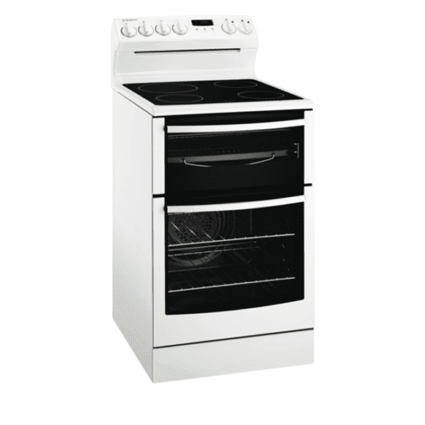 Westinghouse WLE547WA 54cm Electric Upright Cooker-full view