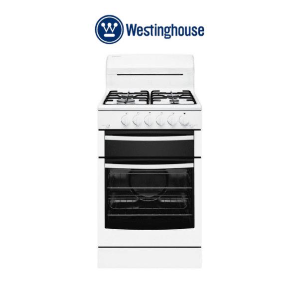 Westinghouse WLG503WBLP 54cm LPG Gas Upright Cooker