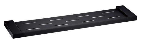 5609-1-B Elegancia Square Metal Bathroom Rack Shelf Holder 550mm Matte Black