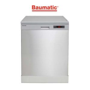 Baumatic BDW14BS 60cm Freestanding Dishwasher-web ready