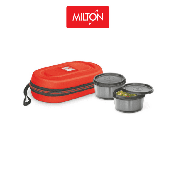 MNL2OR Milton Nutri Lunch 2 Container Lunch Box-web ready
