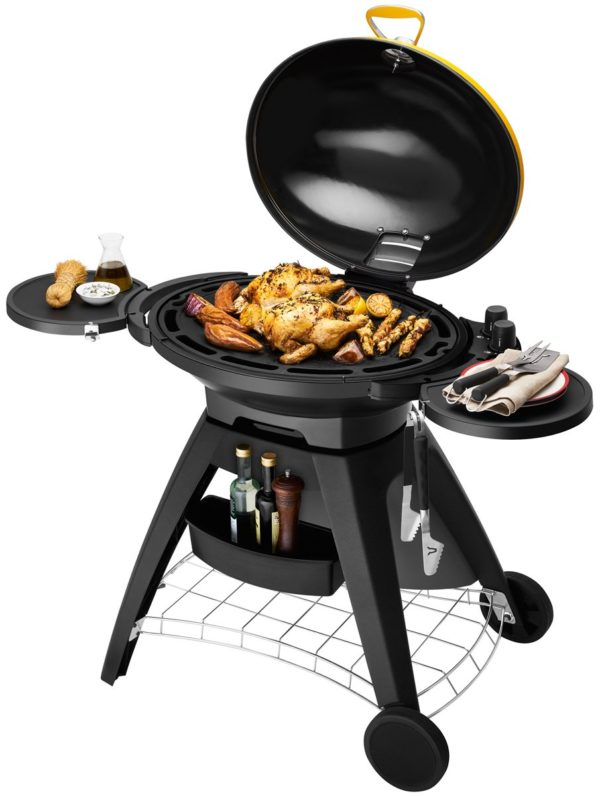 Beefeater BB722AA Bigg Bugg Black Mobile Barbeque LPG BBQ-full view