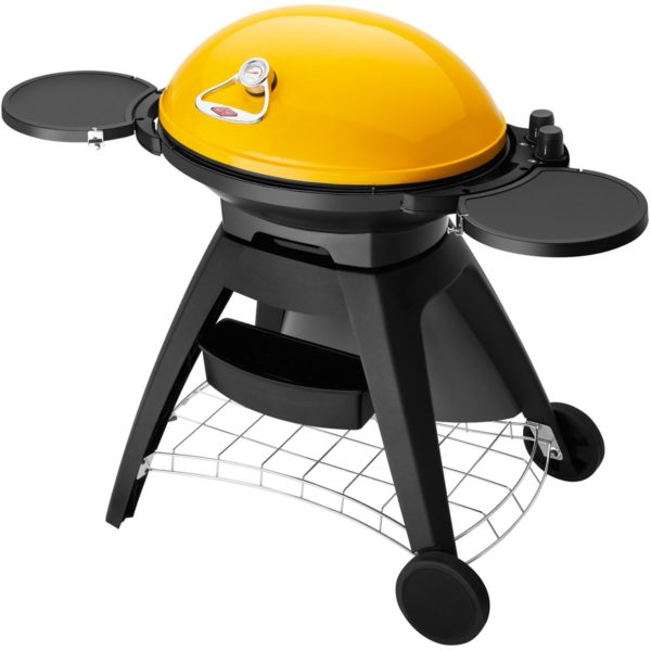Beefeater BB722AA Bigg Bugg Black Mobile Barbeque LPG BBQ-side view