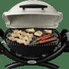 Weber 50060224 Q1000AU Baby Q Gas BBQ Barbeque LPG-inside view