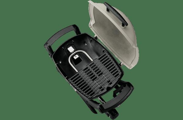 Weber 50060224 Q1000AU Baby Q Gas BBQ Barbeque LPG-top view