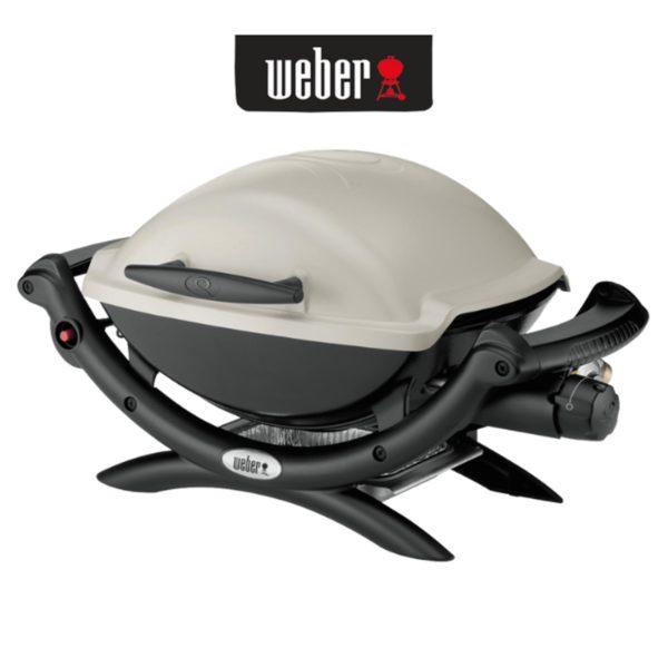 Weber 50060224 Q1000AU Baby Q Gas BBQ Barbeque LPG web ready