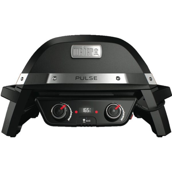 Weber 82010024 Pulse 2000 Electric BBQ Barbeque-front view