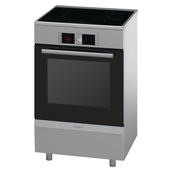 Bosch HCA858450A Serie 6 60cm Electric Freestanding Cooker-front view