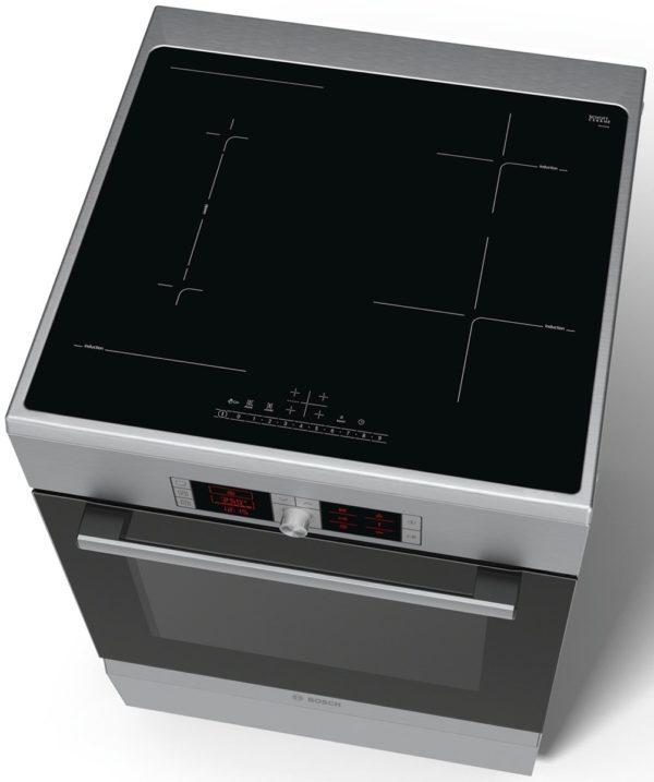 Bosch HCA858450A Serie 6 60cm Electric Freestanding Cooker-top view