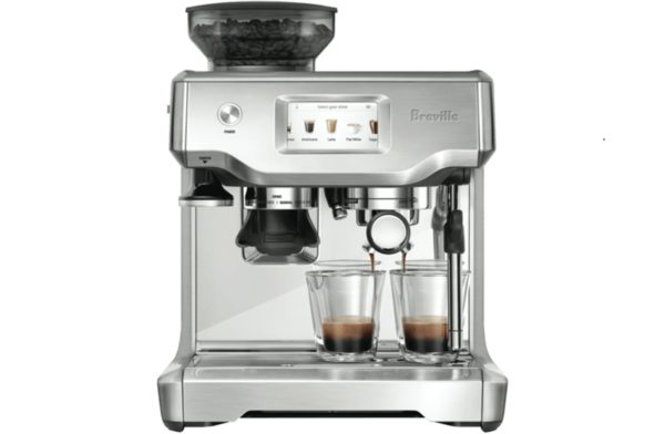 Breville BES880BSS The Barista Touch Espresso Coffee Machine Maker-2 cups