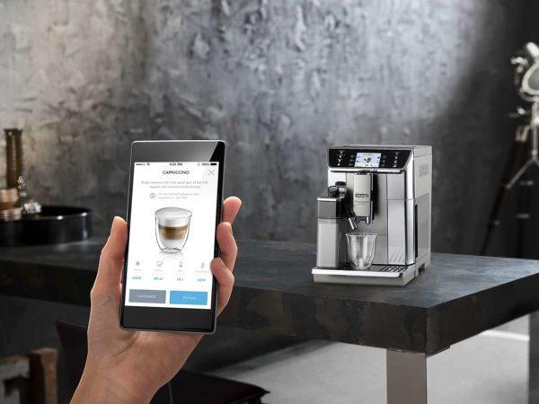 Delonghi ECAM65055MS PrimaDonna Elite Ecam Fully Auto Coffee Machine Maker-app