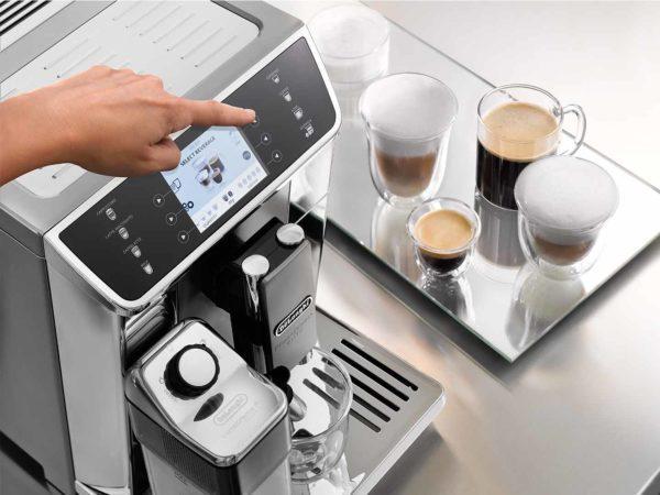 Delonghi ECAM65055MS PrimaDonna Elite Ecam Fully Auto Coffee Machine Maker-menu
