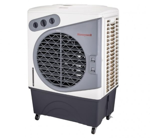 Honewell CL60PM 60L Portable Evaporative Cooler IndoorOutdoor-side view